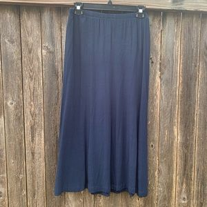 J. Jill Maxi Linen Skirt l Small Petite